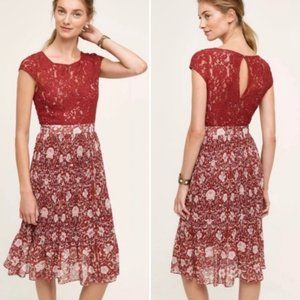 ANTHRO Plenty by Tracy Reese Arcadia Lace Dress